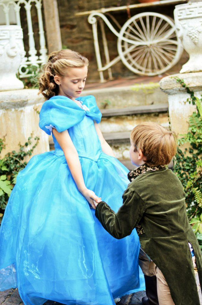 Cinderella and Prince Charming cosplay