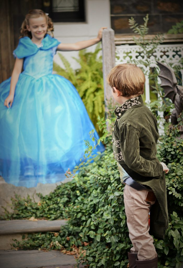 Cinderella dress and Prince Charming Jacket cosplay