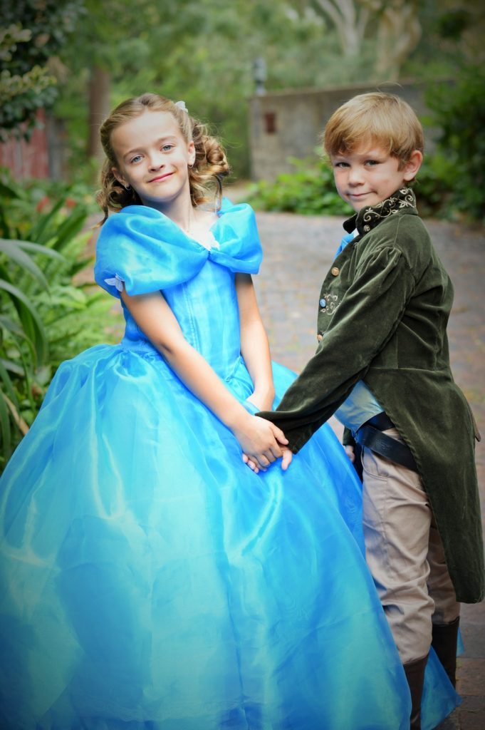 Cinderella and Prince Charming cosplay 2015