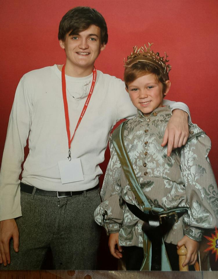 King Joffrey cosplay with Jack Gleeson