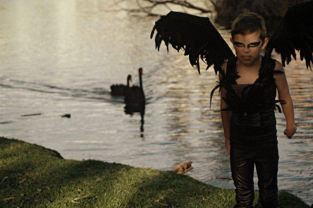 Evil swan