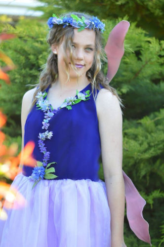Adults Fairy Gown - princess seamed bodice and tutu skirt