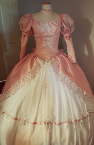 Ariel The Little Mermaid Pink Ballgown