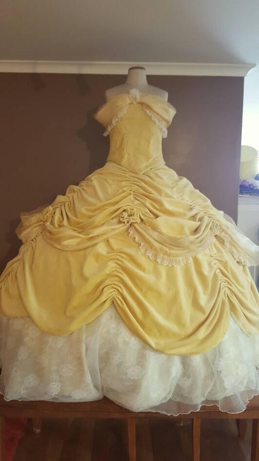 Belle Disneyland Inspired  costume
