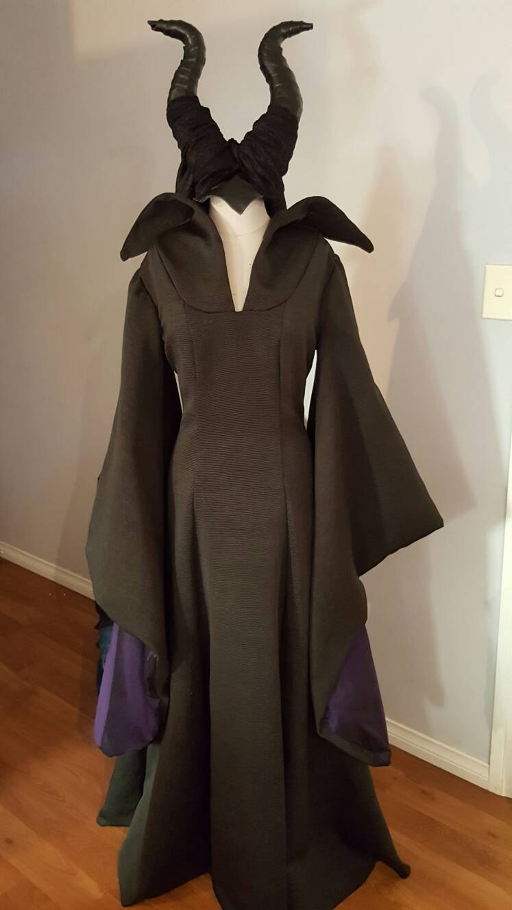 Maleficent Costume Maleficent Dress And Horns