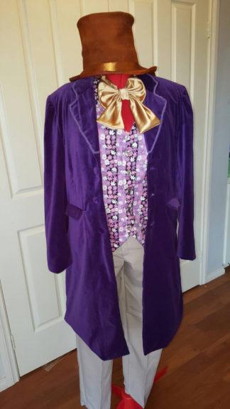Men's Willy Wonka costume