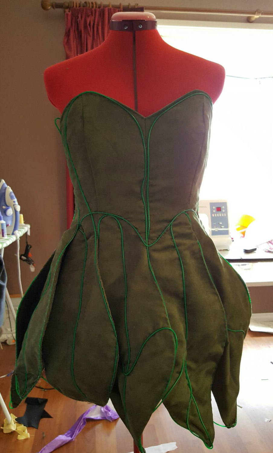 Paint The Night Tinkerbell - dress only