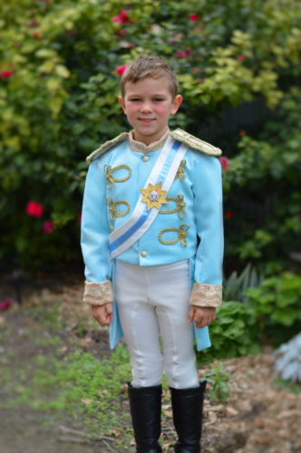 Prince Charming / Kit Wedding Costume Inspired by Cinderella 2015