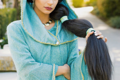 Princess Jasmine Cape , Cloak, lined Winter Cape , Princess cape