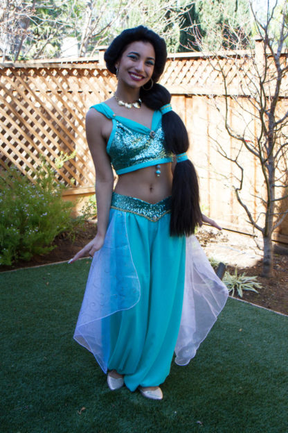 Princess Jasmine costume - womens
