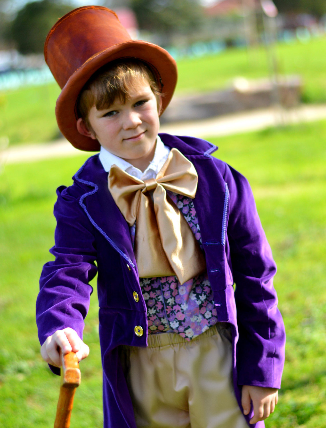 Willy Wonka Costume - Charlie and the Chocolate Factory ...