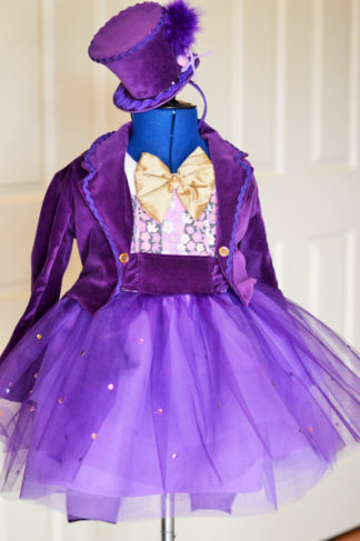 Willy Wonka Dress / Mad Hatter (different colour scheme)
