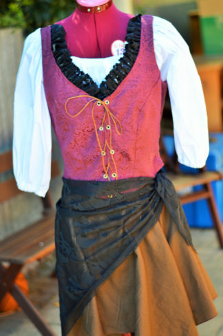 Womens Pirate costume